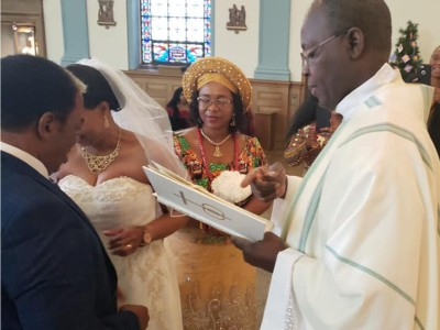 HON. PHILOMENA UBA WEDDING
